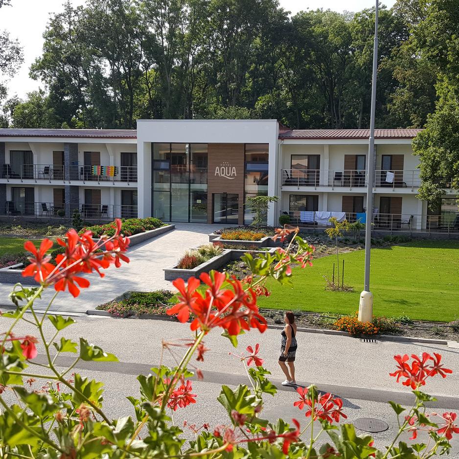 04d0547bd2 Hotel Aqua Veľký Meder termální lázně Slovensko
